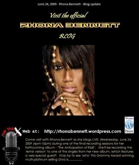 Official blog of Rhona Bennett
