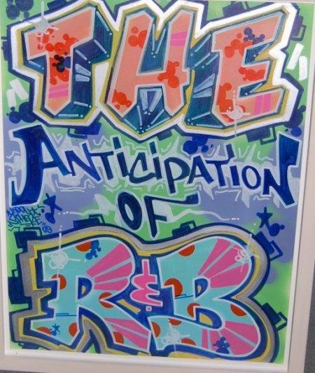 Anticipation grafitti